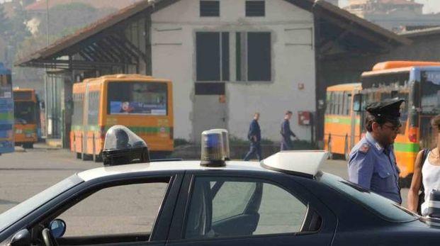 Controlli dei carabinieri alla stazione (Foto d'archivio)
