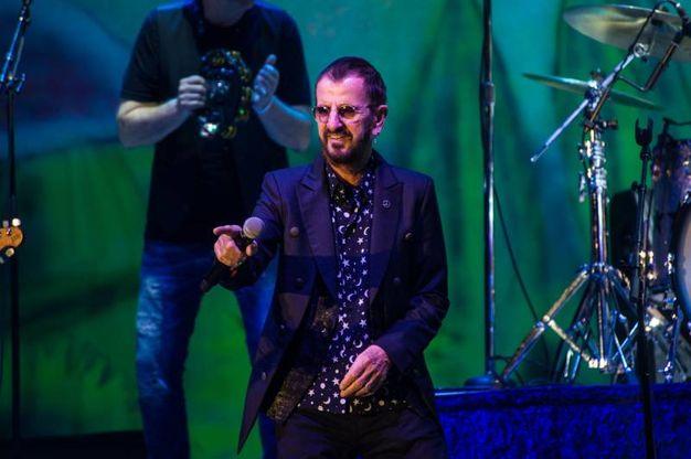 Ringo Starr, il concerto di Lucca (Foto Alcide)