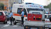 Livorno, due pedoni investiti davanti all'Hotel Palazzo (Foto Lanari)