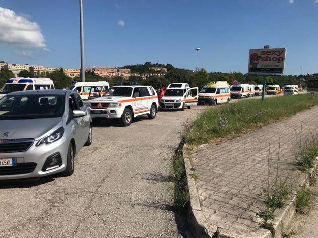 Blocco delle ambulanze e disagi