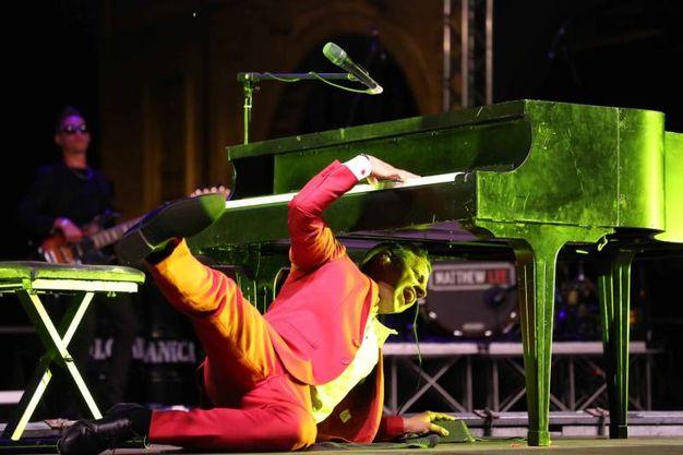 Il pianista funambolico (Foto Artioli)