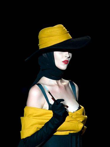 Andres Sarda, collezione Primavera/Estate 2019, Mercedes Benz Fashion Week, Madrid (LaPresse)