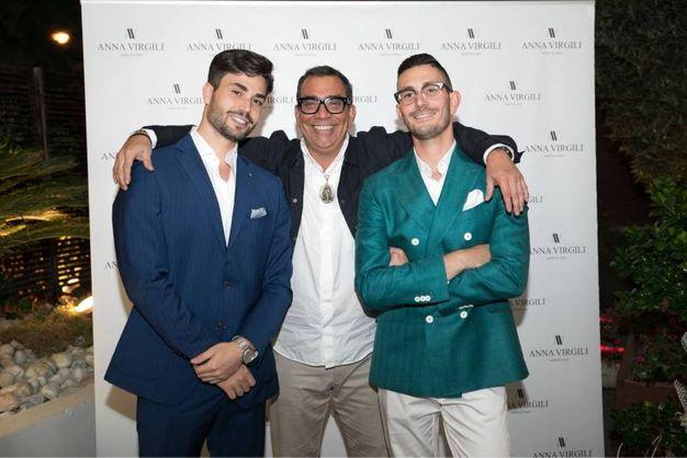 I fratelli Gaetani con Mariotto