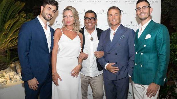 Mariotto con la famiglia Gaetani del Brand Anna Virgili