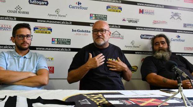 Massese, la conferenza stampa dei tifosi (Nizza)