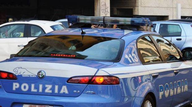Una volante della polizia (De Pascale)
