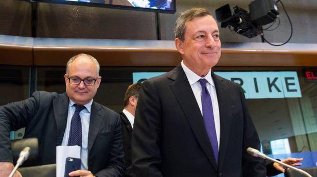 Il presidente della Bce Mario Draghi (Imagoeconomia)