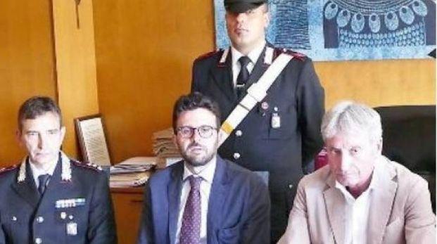 La conferenza stampa a Prato