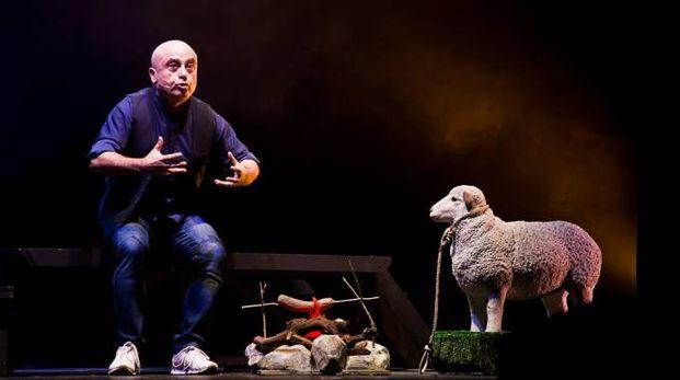 Paolo Cevoli al teatro romano di Ascoli