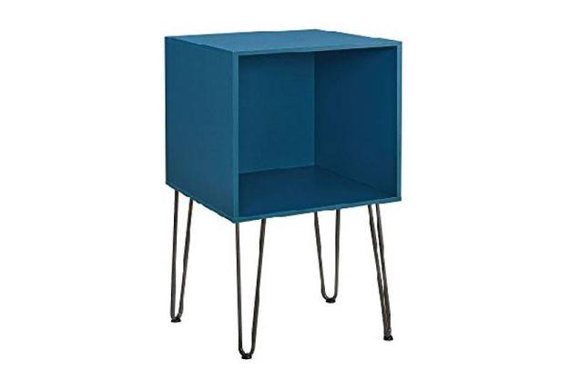 mobiletto blu aperto