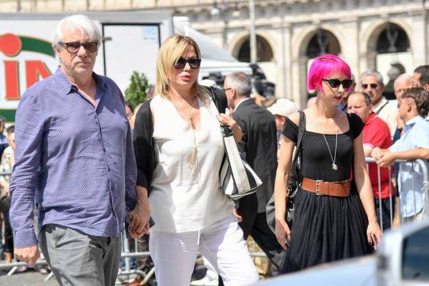 Ricky Tognazzi e Simona Izzo (LaPresse)