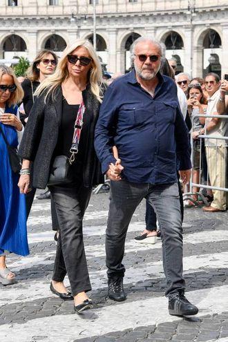 Jeey Calà e Mara Venier (LaPresse)