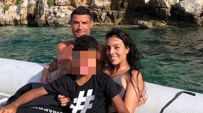 Cristiano Ronaldo in vacanza in Grecia (Instagram)