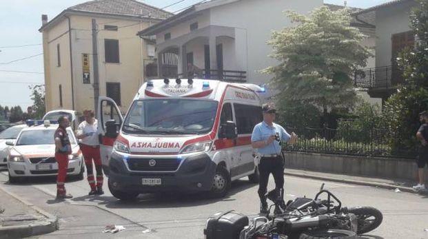 L'incidente in via Ceccarelli