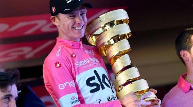 Chris Froome, ultimo vincitore del Giro d'Italia