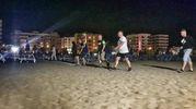 Le ronde in spiaggia