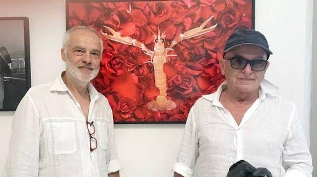 Gli autori Roberto Pari e Sergio Tani (Foto Concolino)