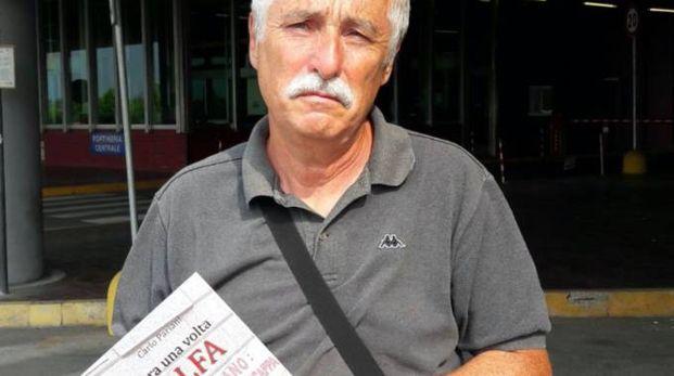 Carlo Pariani, 65 anni, è stato progettista in carrozzeria dal 1974 al 2009