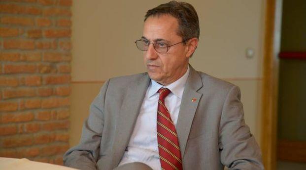 Franco Stasi, segretario della Camera del Lavoro