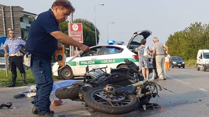 Incidente a Mozzanica