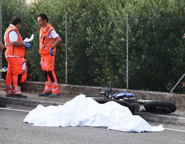 Tragedia sulla Statale Adriatica (foto Migliorini)