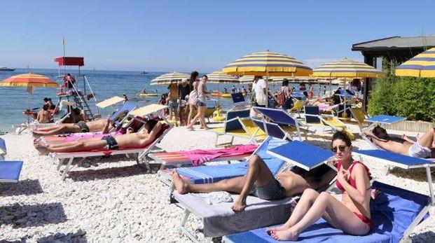 La spiaggia di Portonovo