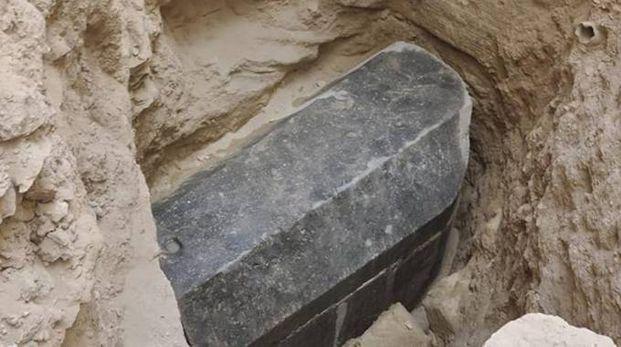 La misteriosa bara trovata ad Alessandria - foto Ministero delle Antichita Egitto