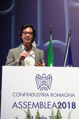 Antonio Tinelli (Foto Petrangeli)