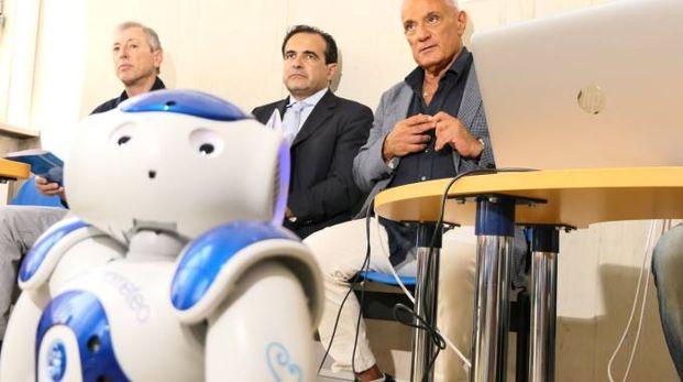 Il robot Nao (foto Angelo Emma)
