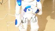 Come prime mansioni il robottino sarà operativo presso il servizio di spirometria e in chirurgia. Estrabot, parla, risponde ad alcune domande specifiche e lo fa in italiano (Foto Emma)