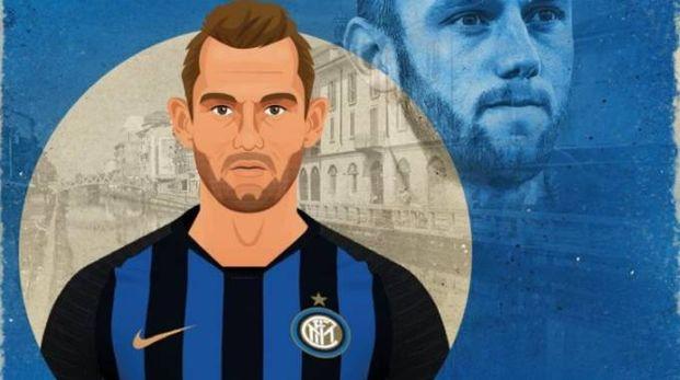 Stefan De Vrij è il nuovo muro difensivo dell'Inter