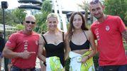 Con lo staff di Aquafan
