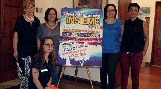 La presentazione del cartellone di «Pubblica...mente Insieme» ieri mattina in Comune a Empoli