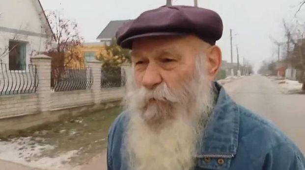 Pavel Semenyuk, patriarca della famiglia da record (Twitter RFE/RL)