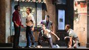 Un momento del musical (Foto Schicchi)