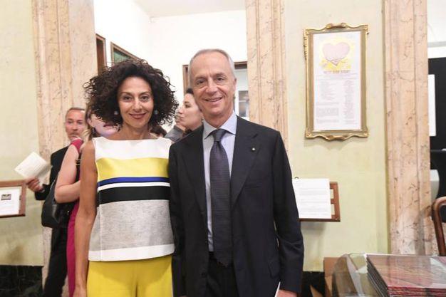 I coniugi Maccaferri (Foto Schicchi)