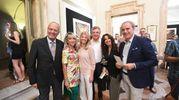 Foto di gruppo con Silvia Zaffi, Renato Nucci, Catia Galli, Fabrizio Foschini, Cristina Giordani ed Enzo Fasanella (Foto Schicchi)