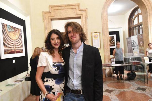 Federica Melani e Martino Moruzzi (Foto Schicchi)