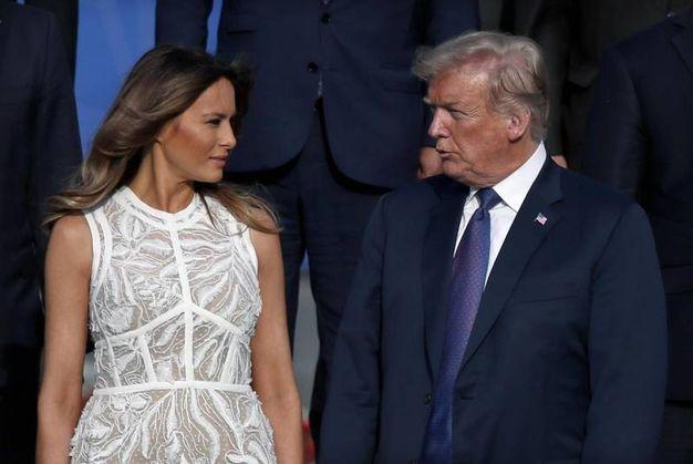 Trump e Melania (Ansa)