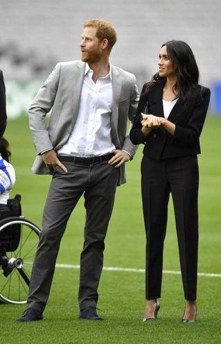 Harry e Meghan in Irlanda (Ansa)