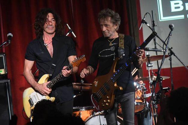 Stef Burns, il chitarrista americano, da molti anni al fianco di Vasco Rossi (Foto Schicchi)
