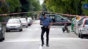 Carabinieri sul posto (foto Busiensspress)