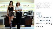 Chiara con Patrizia Mirigliani, la patron di Miss Italia (Instagram)