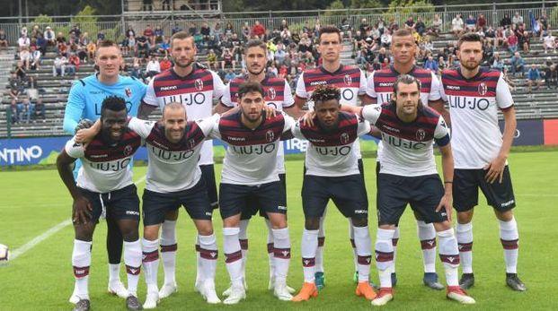 La squadra del Bologna (foto Schicchi)