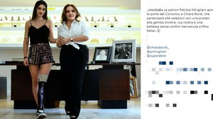 Sull'account di Miss Italia di Instagram la foto di Chiara Bordi con Patrizia Mirigliani