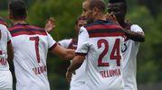 I giocatori del Bologna (foto Schicchi)