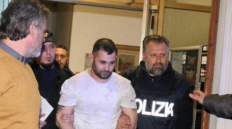 Spataru venne arrestato dai colleghi dell'ispettore Pieri