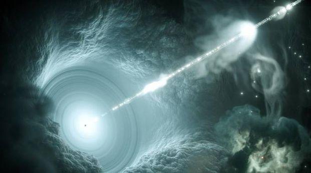 I neutrini cosmici, particelle che attraversano la materia senza lasciare traccia (Ansa)