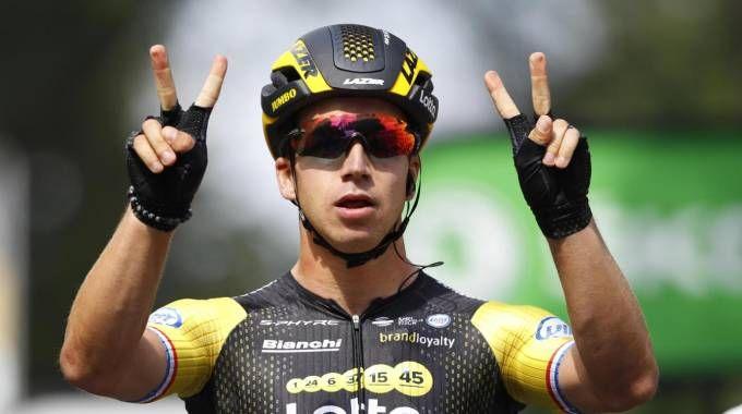 Tour de France 2018, bis di Groenewegen (Ansa)