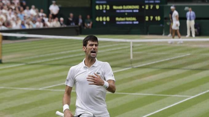 Novak Djokovic ha battuto Rafa Nadal (Ansa)